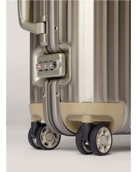 Rimowa - Topas Titanium Cabin Multiwheel® Iata (titanium, 32-litre) - Lyst