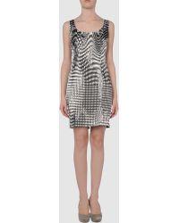 Charlott Short Dress - Lyst