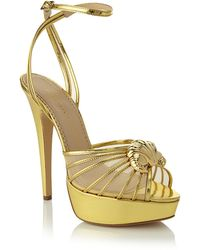 Charlotte Olympia Croissant Sandal - Lyst