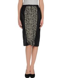 D&G Knee Length Skirts - Lyst