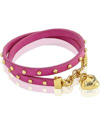 Juicy Couture - Double Wrap Stud Bracelet - Lyst