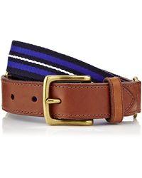 Polo Ralph Lauren Ivy League Stripe Belt - Lyst