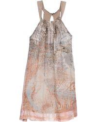 Ra-re Short Dress - Lyst