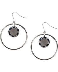 D&G Black Earrings - Lyst