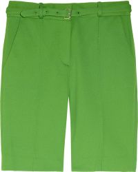 Diane von Furstenberg New Boymuda Ribbed Stretch Jersey Shorts - Lyst