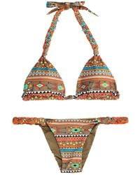 Emamó Aymara Ikatprint Bikini - Lyst