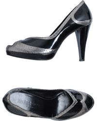 Hartian-bourdin Courts With Open Toe - Lyst