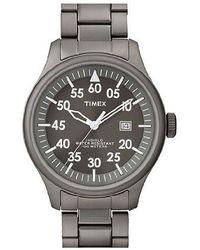 Timex - Mens Retro Vintage Round Bracelet Watch - Lyst
