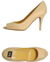 D&G Courts with Open Toe - Lyst