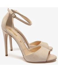 Jerome C. Rousseau 20th Anniversary Capsule Collection Exclusive Naked Suede Sandal - Lyst