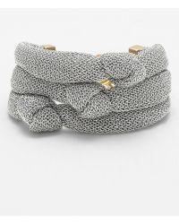 Adami & Martucci Mesh Knot Bracelet Nordstrom Exclusive - Lyst