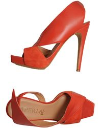 Aperlai Platform Sandals - Lyst