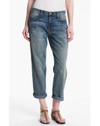 Current/Elliott 'The Boyfriend Jean' Jeans - Lyst