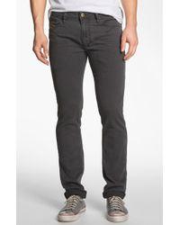 Diesel Shioner Slim Straight Leg Jeans - Lyst