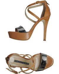 Francesco Morichetti Platform Sandals - Lyst