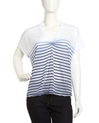 Young Fabulous & Broke Shadowstripe Ombre Top - Lyst