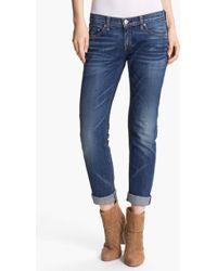 Rag & Bone/JEAN Women'S 'The Dre' Slim Fit Boyfriend Jeans - Lyst