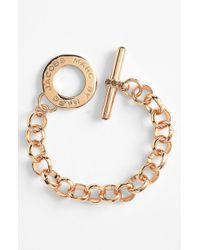 Marc By Marc Jacobs 'Toggles & Turnlocks' Link Bracelet - Lyst