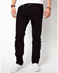 Diesel Jeans Darron 8Qu Slim Fit Black - Lyst
