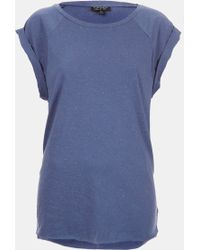 Topshop High Roller Specked Tee - Lyst