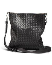 Bottega Veneta Intrecciato Vn Cross Body Bag - Lyst