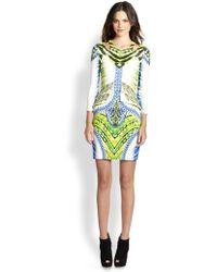 Just Cavalli Tigerfishprint Dress multicolor - Lyst