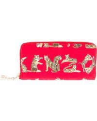 KENZO - Tiger Logo Wallet - Lyst