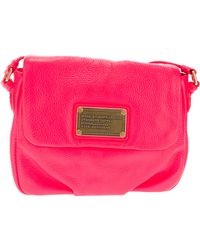 Marc By Marc Jacobs Small Branded Shoulder Bag - Lyst
