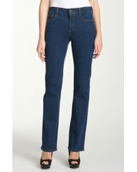 Not Your Daughter's Jeans Nydj Marilyn Straight Leg Stretch Jeans - Lyst
