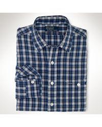 Polo Ralph Lauren Customfit Workshirt - Lyst
