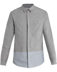 Richard Nicoll - Bicolour Oxford Shirt - Lyst