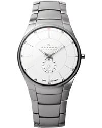 Skagen - 924xlsxs Mens Stainless Steel Watch - Lyst