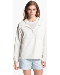 Theory Soak P Hooded Pullover Jacket - Lyst