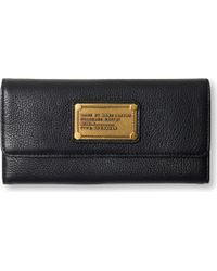 Marc By Marc Jacobs Classic Q Leather Tri-Fold Wallet - For Women - Lyst