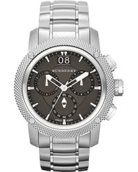 Burberry Bu9800 Stainless Steel Chronograph Sports Watch - For Men - Lyst