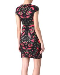 McQ by Alexander McQueen Butterfly Camo Dress - Lyst