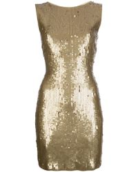 MICHAEL Michael Kors Sequin Dress - Lyst
