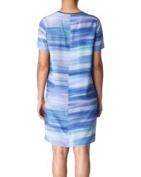 Paul Smith Black Label Printed Dress - Lyst