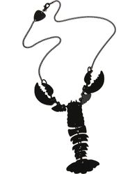 Tatty Devine Lobster Necklace - Lyst