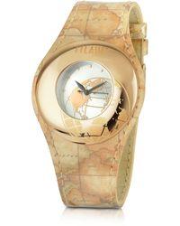 Alviero Martini 1A Classe - 1a Prima Classe - Ladies Geo Patent Strap Bracelet Watch - Lyst