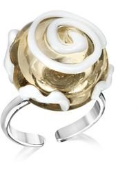 Antica Murrina - Mignon Murano Glass Ring - Lyst