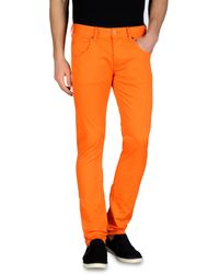 Armani Jeans 5 Pocket Slim Fit Jeans - Lyst