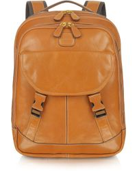Bric's - Life Leather Leather Backpack - Lyst