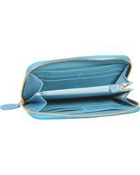 Bric's - Cervo Genuine Leather Zip Around Wallet - Lyst