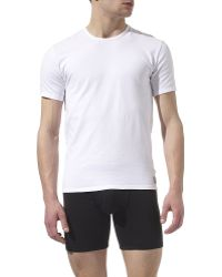 Calvin Klein Two Pack Crew-neck T-shirts - Lyst