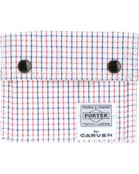 Carven - Checked Wallet - Lyst