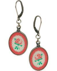 Cath Kidston - Botanical Drop Earrings - Lyst