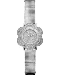 Guess - Flower Stainless Steel Watch - Lyst