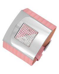 Haurex - Crystal Dial Watch - Lyst