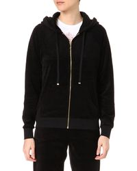 Juicy Couture Relaxed Velour Hoody - Lyst